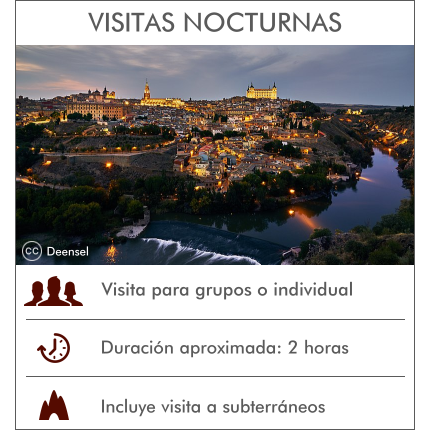Visitas Guiadas Toledo - Rutas Nocturnas