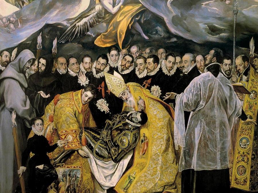 Entierro del Conde de Orgaz en Toledo