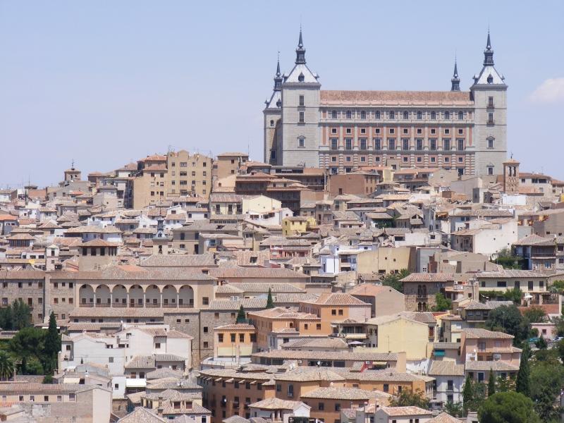Vista del Alcázar de Toledo