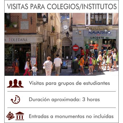 Visitas Guiadas Toledo - Visitas para colegios o institutos