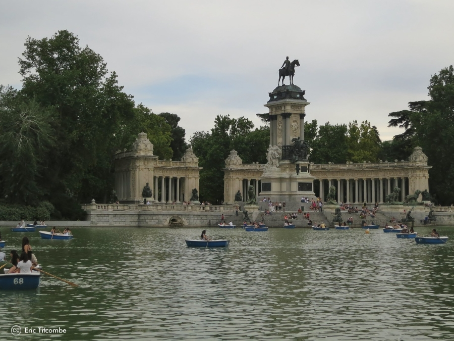 Grandes parques de Madrid, El Retiro