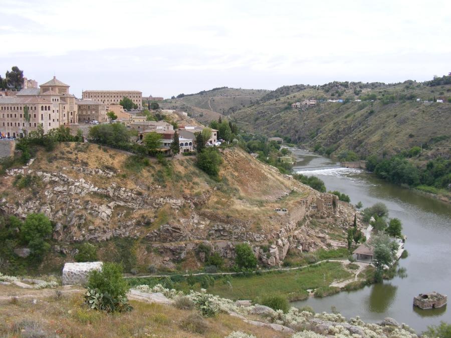 Detalle de la Senda Ecológica de Toledo