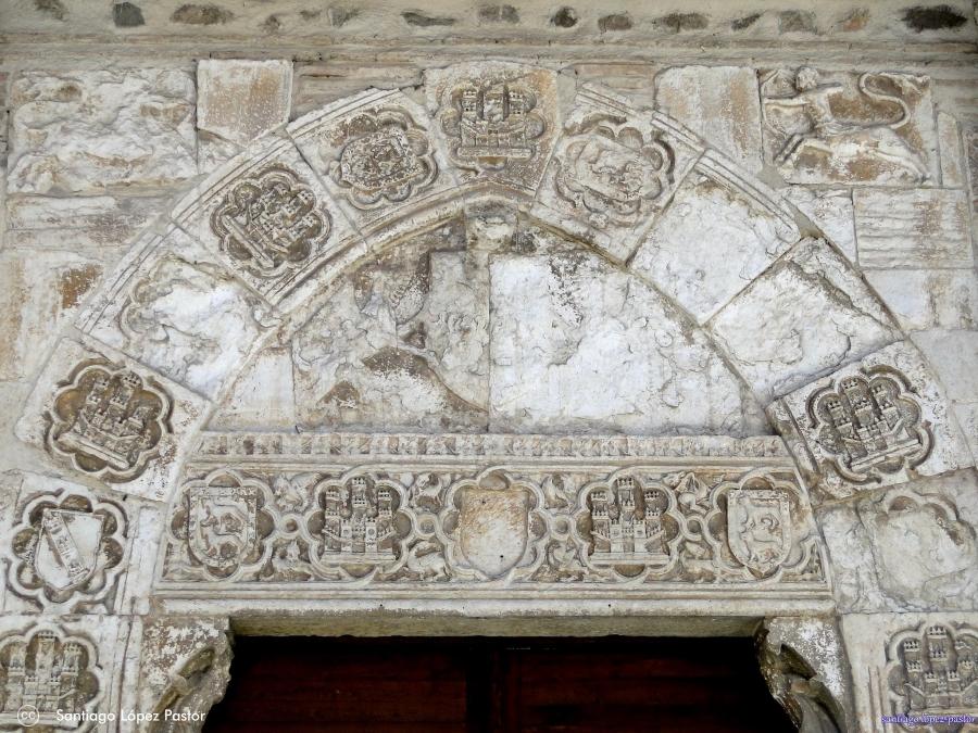 Detalle del Convento de Santa Isabel en Toledo