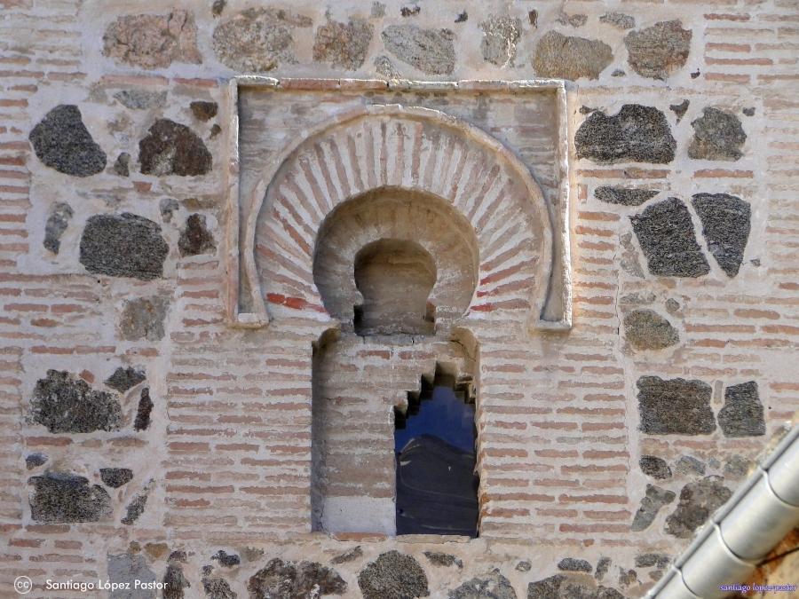 Detalle Iglesia de San Bartolomé en Toledo